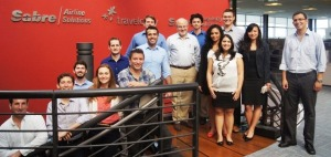 Visiting Sabre Holdings located in ZONAMERICA(Montevideo, January 18 2013)