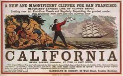 Sailing to Northern California at the start of the Gold Rush
