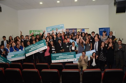 Global Entrepreneurship Week closing ceremony at Universidad del Pacifico, 12/14/2014.